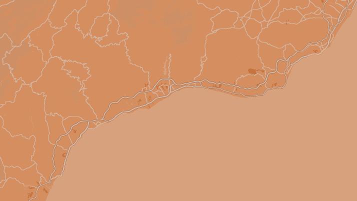 Mapa de la Costa del Sol