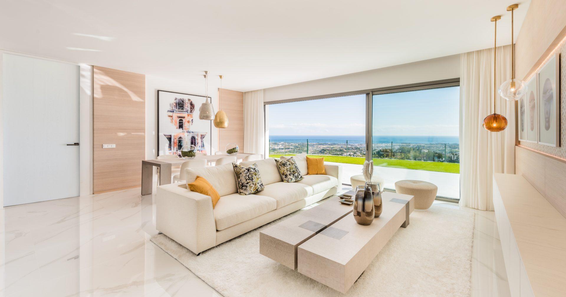 Apartamento en venta en Marbella con amplia terraza